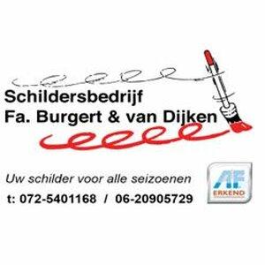 Schildersbedrijf Fa. Burgert en van Dijken logo