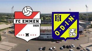 Heemskerkse voetbalclub Odin'59 stunt en schakelt FC Emmen uit