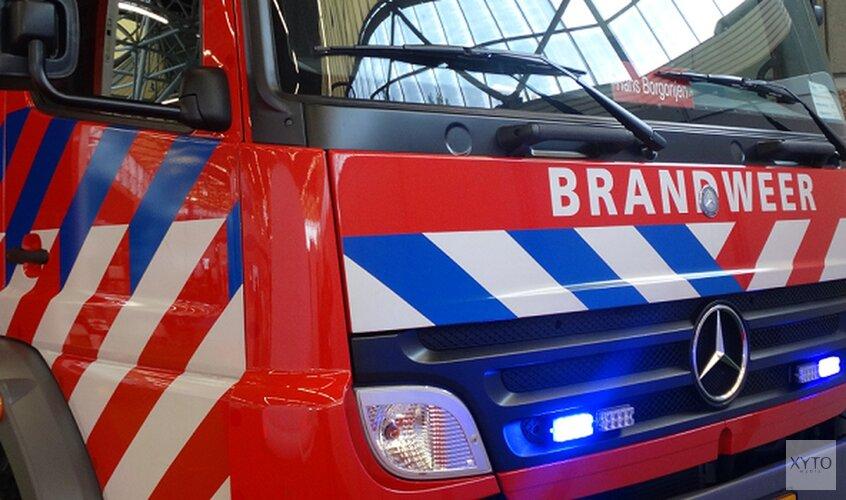 Dakbrand bij huis Heemskerk na werkzaamheden aan zonnepanelen