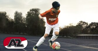 Jonger Oranje Talentendag met  scouts van AZ