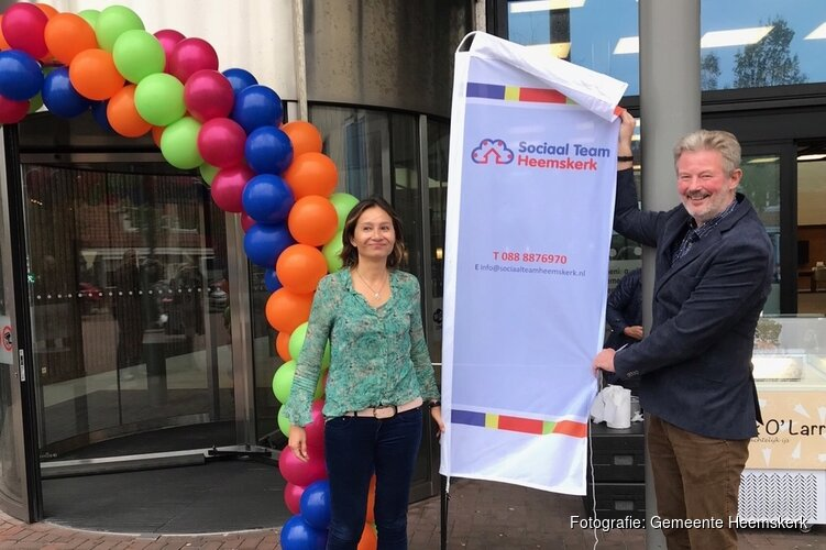 Spreekuur Sociaal Team Heemskerk in het gemeentehuis