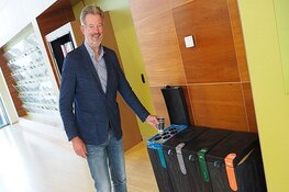 Ook in het gemeentehuis Heemskerk wordt afval gescheiden