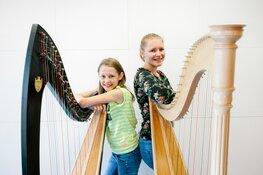 Magisch harpconcert door leerlingen van Cultuurhuis Heemskerk