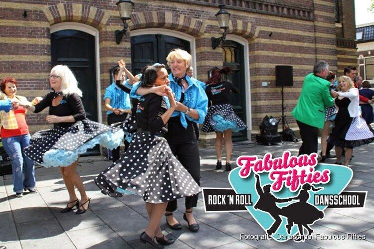Proefles Rock'n Roll in Dansschool Fabulous Fifties