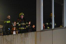 Brandstichting in trappenhuis Jan van Scorelstraat Heemskerk