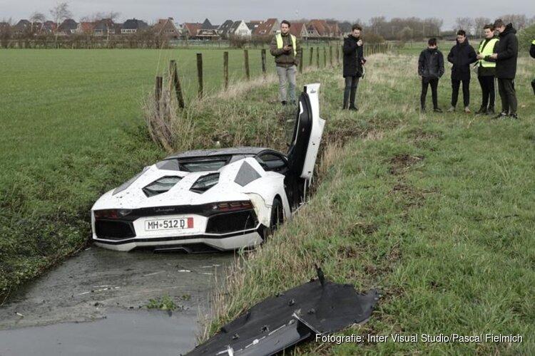 Bestuurder gecrashte Lamborghini Heemskerk meldt zich alsnog