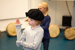Speel in de musical Annie