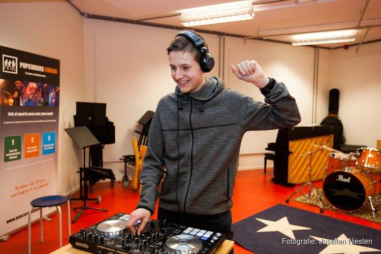 DJ-cursus en muziekproducer bij Cultuurhuis Heemskerk