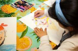 Cultuurhuis tekenateliers voor kinderen en jongeren